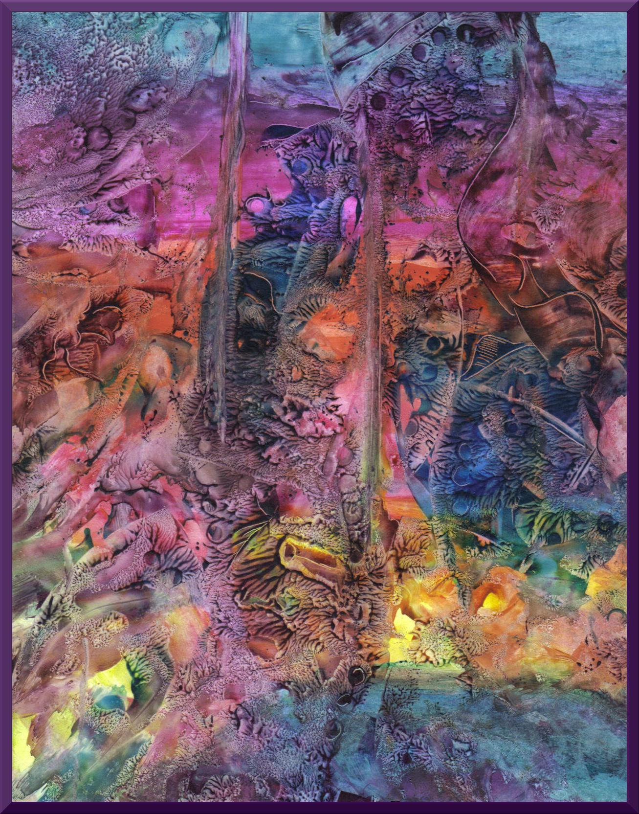 Amazing crayon art ramona on art life kicking the cat for Amazing paintings pics